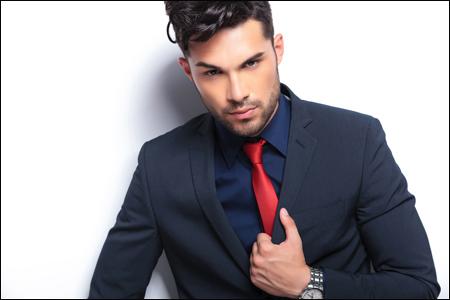 ネクタイの色でわかる男の将来性 赤を身に着ける人は出世する可能性大!